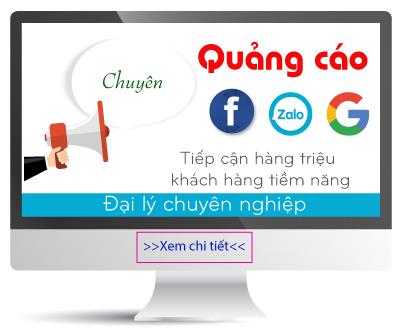Dịch vụ quảng cáo Facebook, Zalo, Google Adwords Củ Chi Tp.HCM